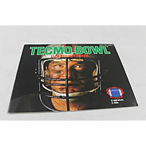 Manual - Tecmo Bowl - Classic Fun Nes Nintendo
