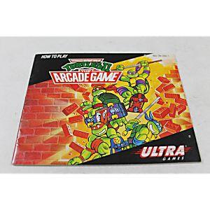 Manual - Teenage Mutant Ninja Turtles II 2 - Nes Nintendo Tmnt