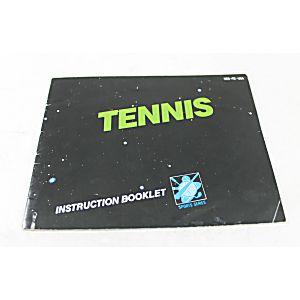 Manual - Tennis - Classic Nes Nintendo