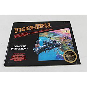 Manual - Tiger-Heli Tigerheli - Classic Nes Nintendo