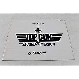 Manual - Top Gun 2 - The Second Mission - Nes Nintendo