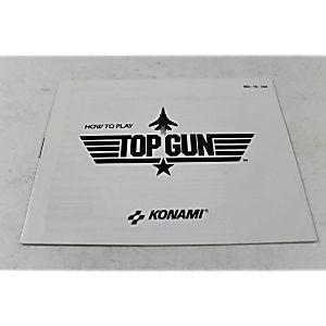 Manual - Top Gun - Nes Nintendo