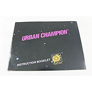 Manual - Urban Champion - Nes Nintendo
