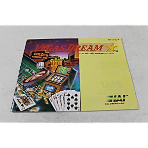 Manual - Vegas Dream - Nes Nintendo
