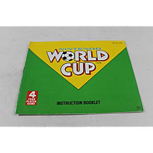 Manual - World Cup Soccer - Fun Nes Nintendo