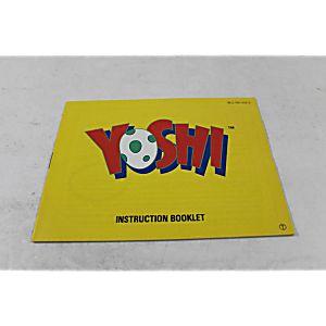 Manual - Yoshi - Fun Nes Nintendo