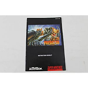 Manual - Aliens Vs. Predator - Rare Snes Super Nintendo