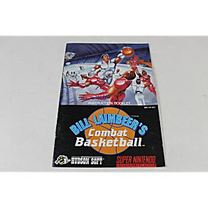 Manual - Bill Laimbeer's Combat Basketball - Snes Super Nintendo