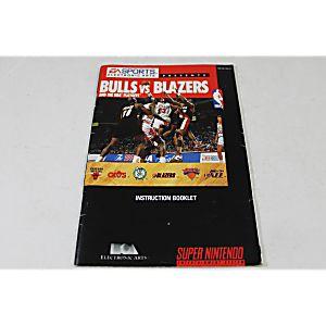 Manual - Bulls Vs. Blazers - Snes Super Nintendo
