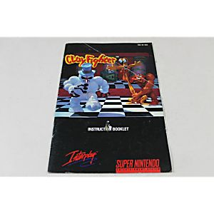 Manual - Clayfighter - Great Snes Super Nintendo Fighting