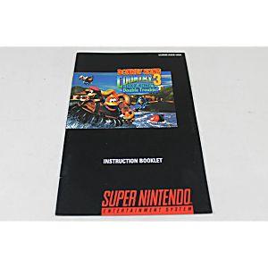 Manual - Donkey Kong Country 3 III - Snes Super Nintendo