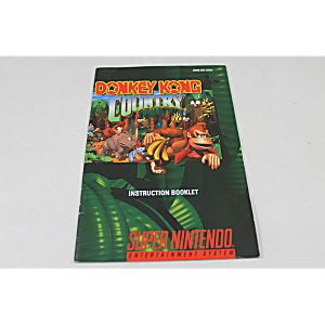 Manual - Donkey Kong Country - Snes Super Nintendo