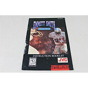 Manual - Emmitt Smith Football - Snes Super Nintendo