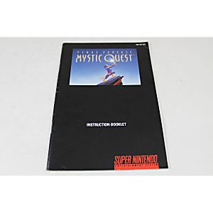 Manual - Final Fantasy Mystic Quest - Snes Super Nintendo
