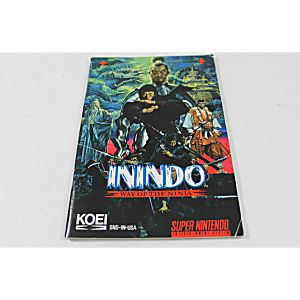 Manual - Inindo Way Of The Ninja - Snes Super Nintendo