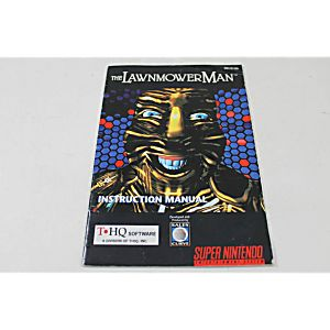 Manual - Lawnmower Man - Snes Super Nintendo