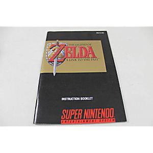 Manual - Legend Of Zelda Link To The Past - Snes Super Nintendo