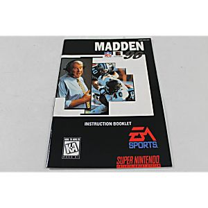 Manual - Madden 96