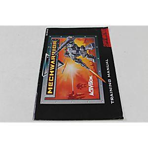 Manual - Mechwarrior - Snes Super Nintendo
