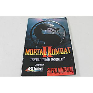 Manual - Mortal Kombat II 2 - Snes Super Nintendo