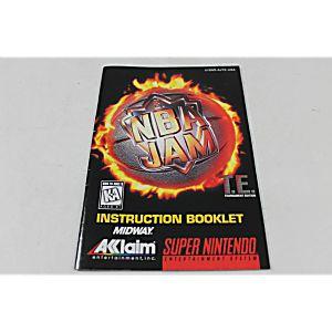 Manual - Nba Jam Tournament Edition - Snes Super Nintendo