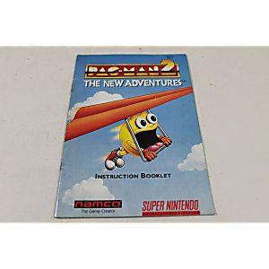 Manual - Pac-Man 2 - Snes Super Nintendo Pacman