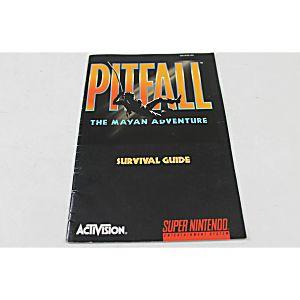 Manual - Pitfall The Mayan Adventure - Snes Super Nintendo