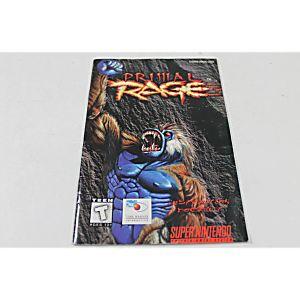 Manual - Primal Rage - Fun Snes Super Nintendo