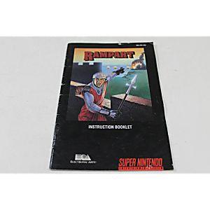 Manual - Rampart - Snes Super Nintendo