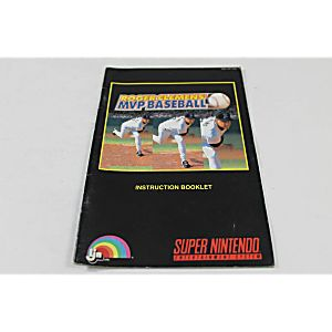 Manual - Roger Clemens' Mvp Baseball - Snes Super Nintendo