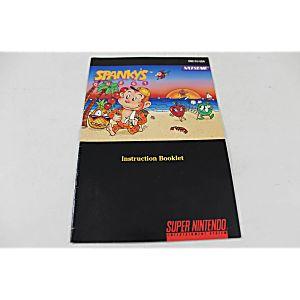 Manual - Spanky's Quest - Rare Snes Super Nintendo