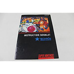 Manual - Super Bowling - Snes Super Nintendo