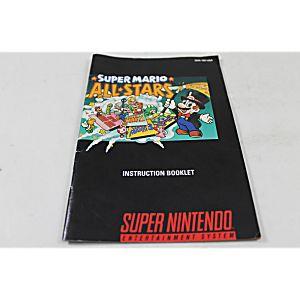 Manual - Super Mario All-Stars - Snes Super Nintendo 4 In 1