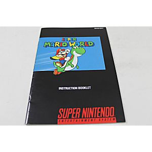 Manual - Super Mario World - Snes Super Nintendo