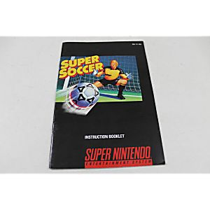 Manual - Super Soccer - Snes Super Nintendo