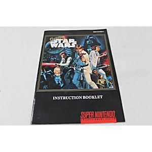 Manual - Super Star Wars - Snes Super Nintendo
