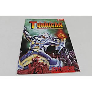 Manual - Super Turrican - Snes Super Nintendo