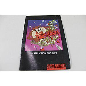 Manual - Taz-Mania - Fun Snes Super Nintendo