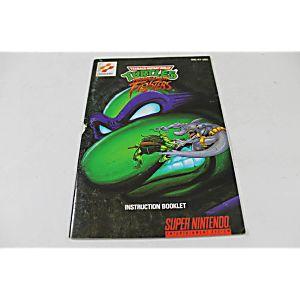 Manual - Teenage Mutant Ninja Turtles Tournament Fighters - Snes