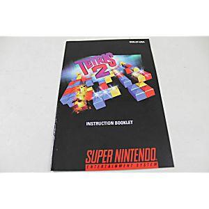 Manual - Tetris 2 - Snes Super Nintendo