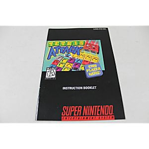 Manual - Tetris Attack - Snes Super Nintendo