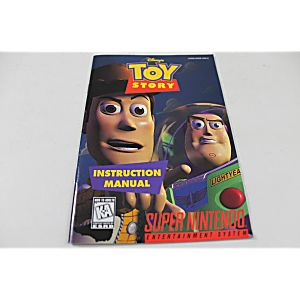 Manual - Toy Story - Snes Super Nintendo