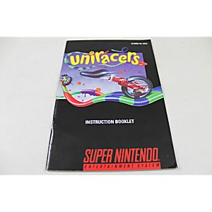 Manual - Uniracers - Snes Super Nintendo