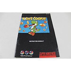 Manual - Yoshi's Cookie - Snes Super Nintendo