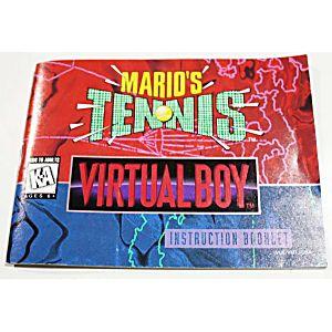 Manual - Mario Tennis - Virtual Boy