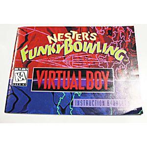 Manual - Nester's Funky Bowling - Virtual Boy