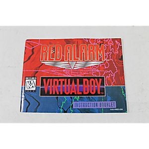 Manual - Red Alarm - Virtual Boy