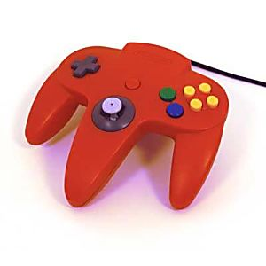 Nintendo 64 N64 Red Controller
