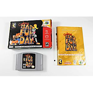 Conker's Bad Fur Day - Complete N64 Game
