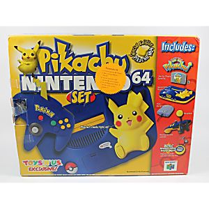Pikachu N64 System - Complete in Box